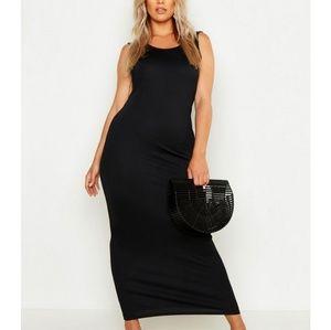 XL nwt boohoo dress black